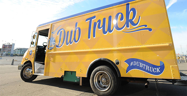 Golden State Warriors Dub Truck