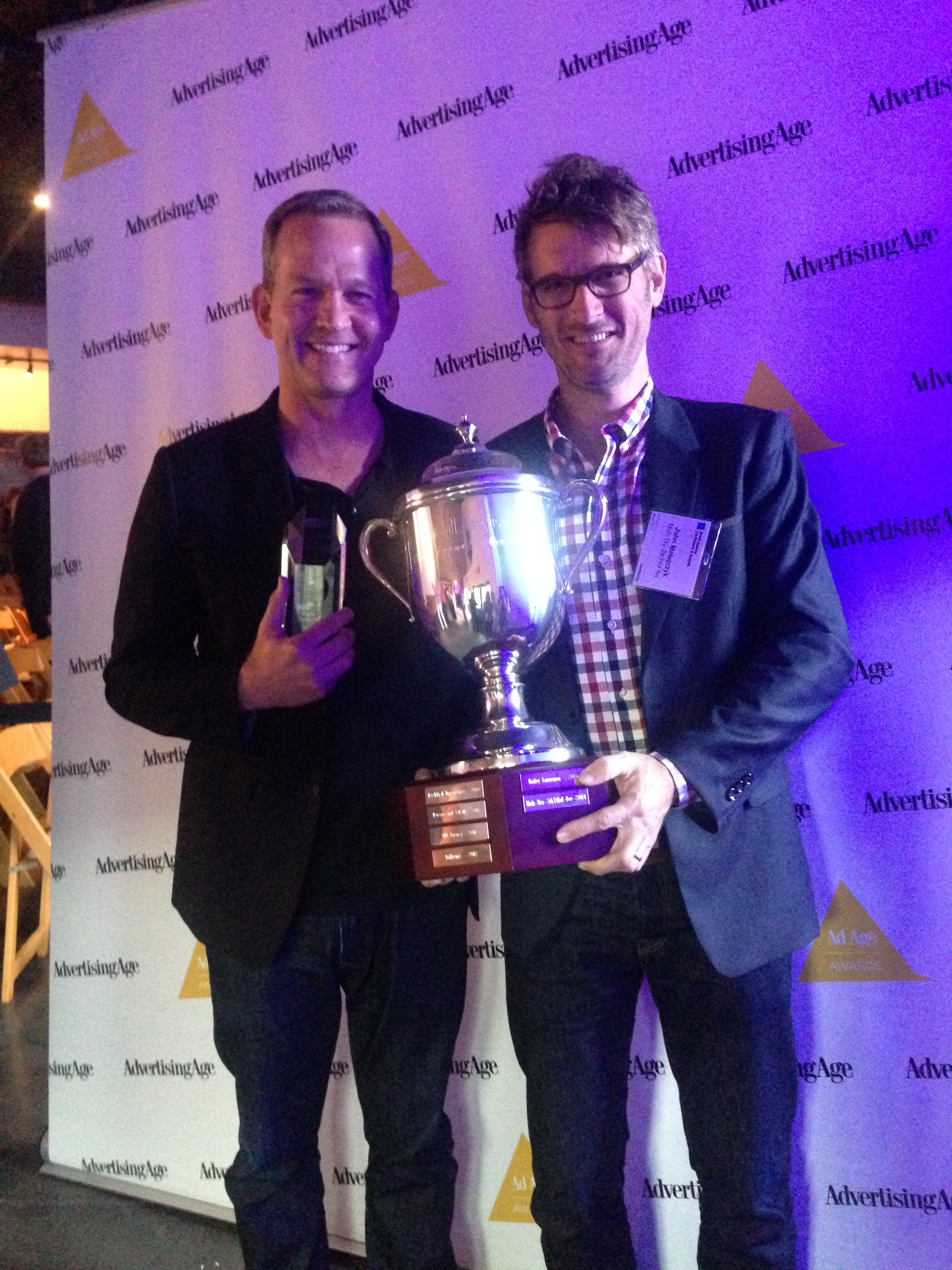 Ad Age Agency of the Year Award Winner