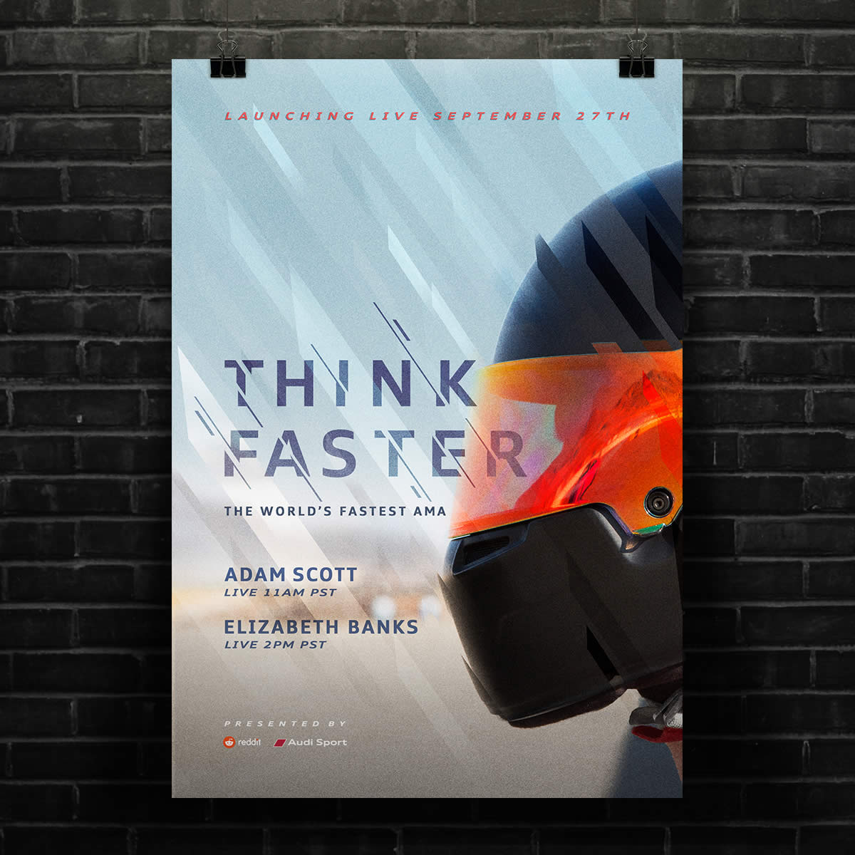 Audi - Think Faster, The World's Fastest AMA - M/H VCCP
